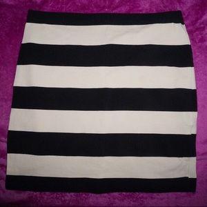 Mini skirt from H&M basic